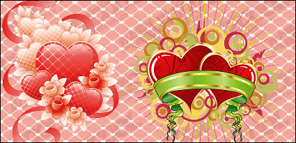 Link toPiaodai with heart-shaped vector material