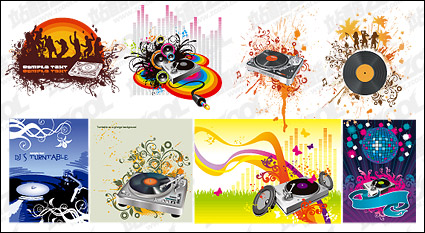 Link to8, dj vector material