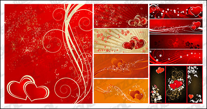 Link to5, the affiliated banner vector background material