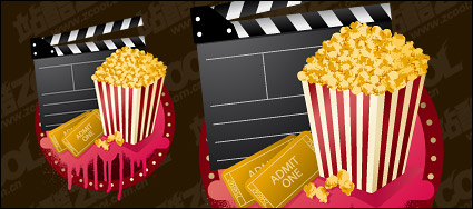 Link toVector material popcorn