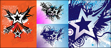Link toVector material elements of the theme stars-1