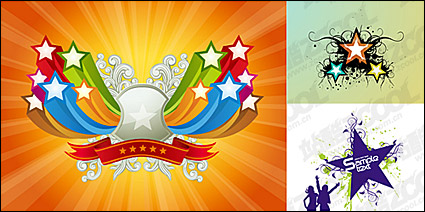 Link toVector material elements of the theme stars-3