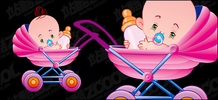 Link toCute baby vector material-3