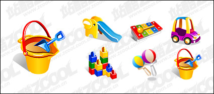 Link toVector material supplies baby toys