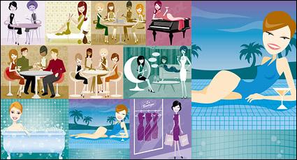 Link toModern men and women illustration series-1