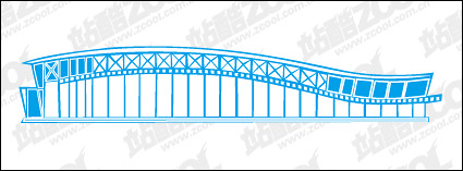 Link toNational stadium vector material