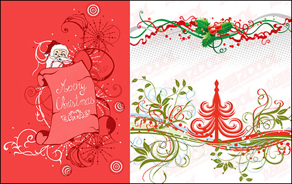 Link toChristmas pattern vector material