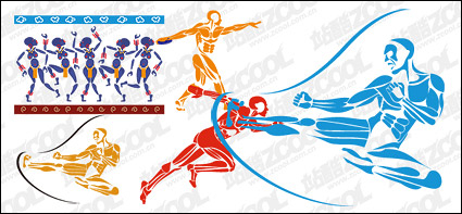 Link toSports figures vector material