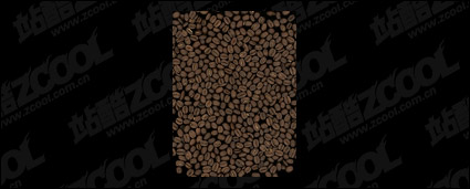 Background material picture quality coffee beans