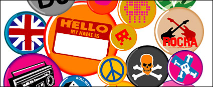 Link toVector material elements of the trend badge