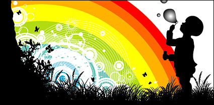 Link toRainbow vector material