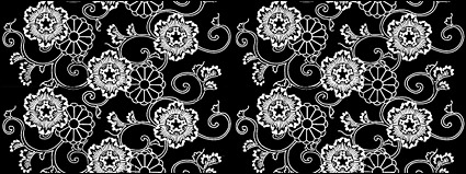 Link toVector traditional tiled background material-7