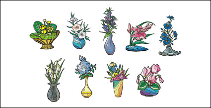 Link toVector illustration style floral material-2