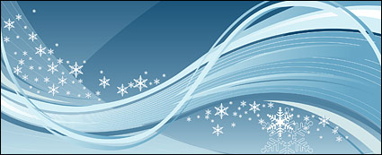 Link toDynamic vector winter background material