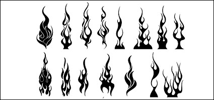 Link toGo media produced vector material - cool flames