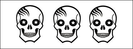 Link toVector skull lovely alternative material
