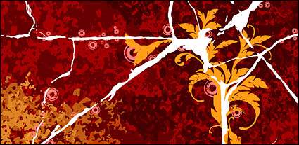 Link toVector material cracks and flowers