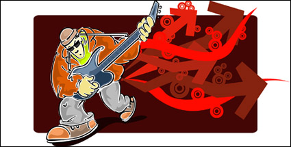 Link toVector material elements of rock music