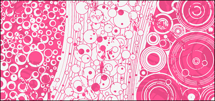 Link toVector circular fashion background material