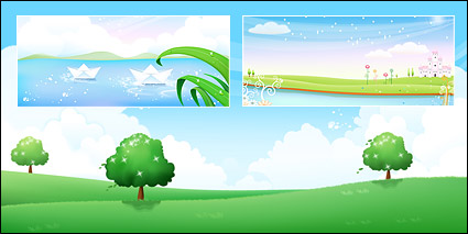 Link toSpring and summer scenery
