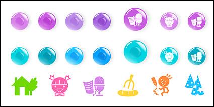 Link toRound cartoon icon