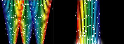 Link toRainbow lines vector material