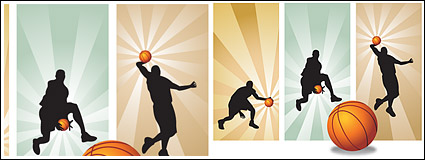 Link toVector material basketball players in pictures