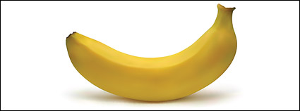 AI realistic rendering of the banana
