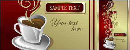 Link toVector material love coffee