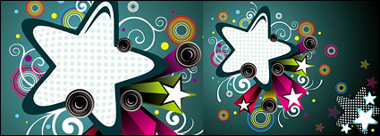 Design elements of the trend of the stars