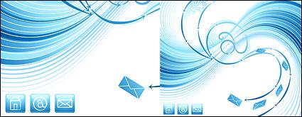 Send an e-mail dynamic blue theme