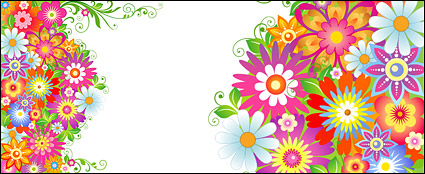 Link toThe colourful flower pattern