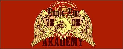 Vector material eagle logo