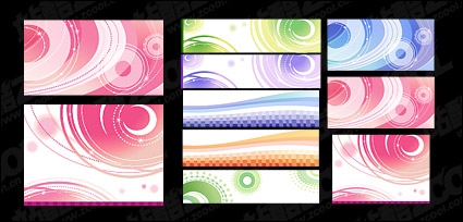 Link toDreams vector lines background material