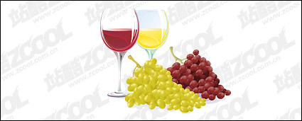Link toVector grape and wine material