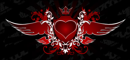 Link toThe trend of heart-shaped wings