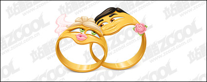Link toVector cartoon style ring material