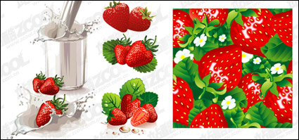 Link toStrawberry milk and dynamic vector material