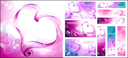 Link toHeart-shaped smoke composed of vector material