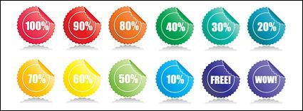 Link toAngular vector material badges web2.0