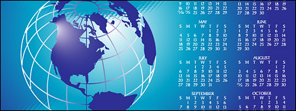 Link to2008 calendar year vector material-2