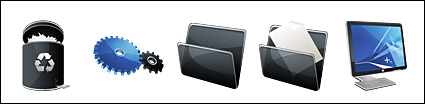 HP black vista style icon png
