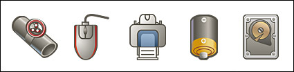 Computer cartoon style icon png