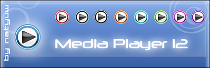 Media Player 12 icon png