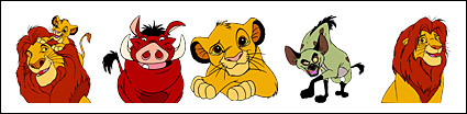 "The Disney cartoon ""The Lion King"" icon png"