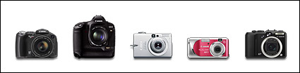 Canon canon digital camera icon png Set