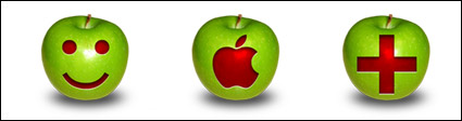 The Apple logo engraved icon png