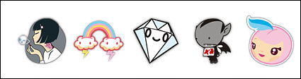 Tokidoki cute trend icon png