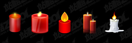 Candles topic icon png