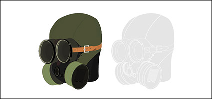 Link toVector material military gas masks